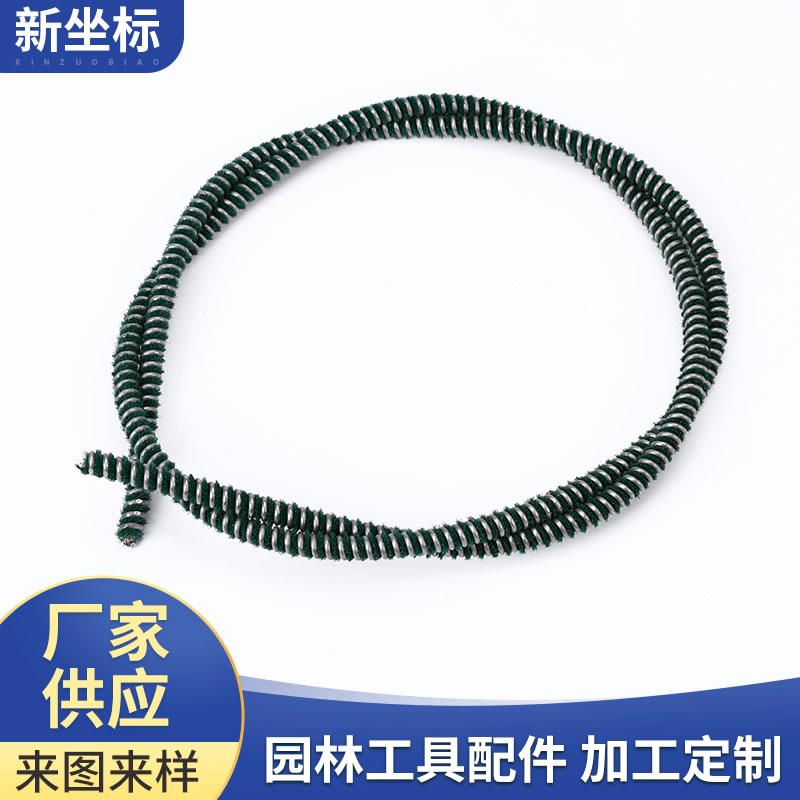 玻璃升降器弹簧软轴 软轴定制 植绒软轴 降低噪音毛绒软轴